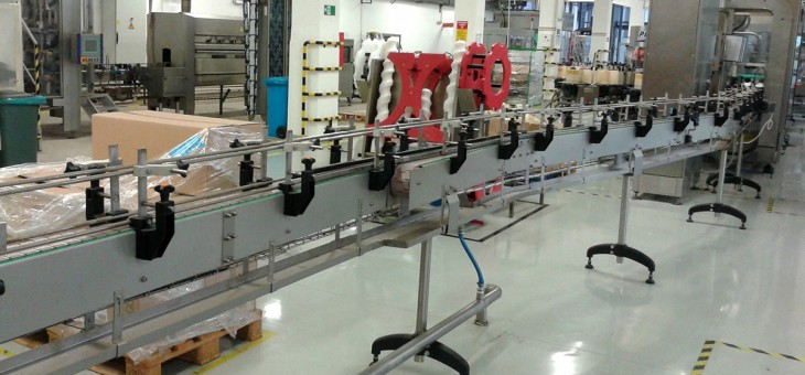 PET Conveyor for Henkel Merima